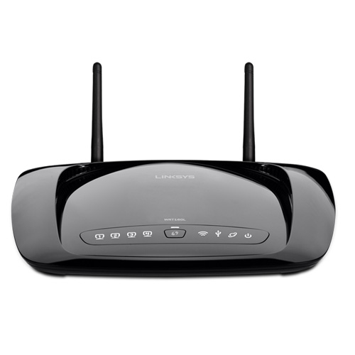 Router wifi Linksys WRT160NL