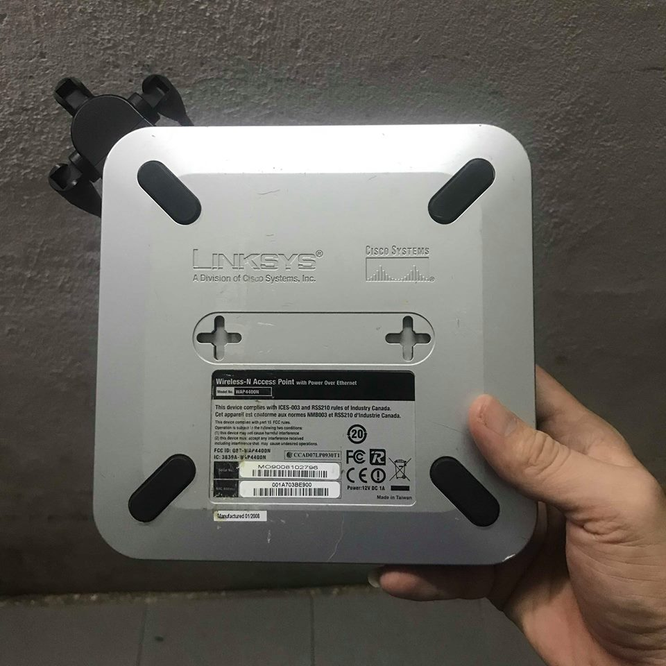 Access Point Linksys WAP4400N 300Mbps