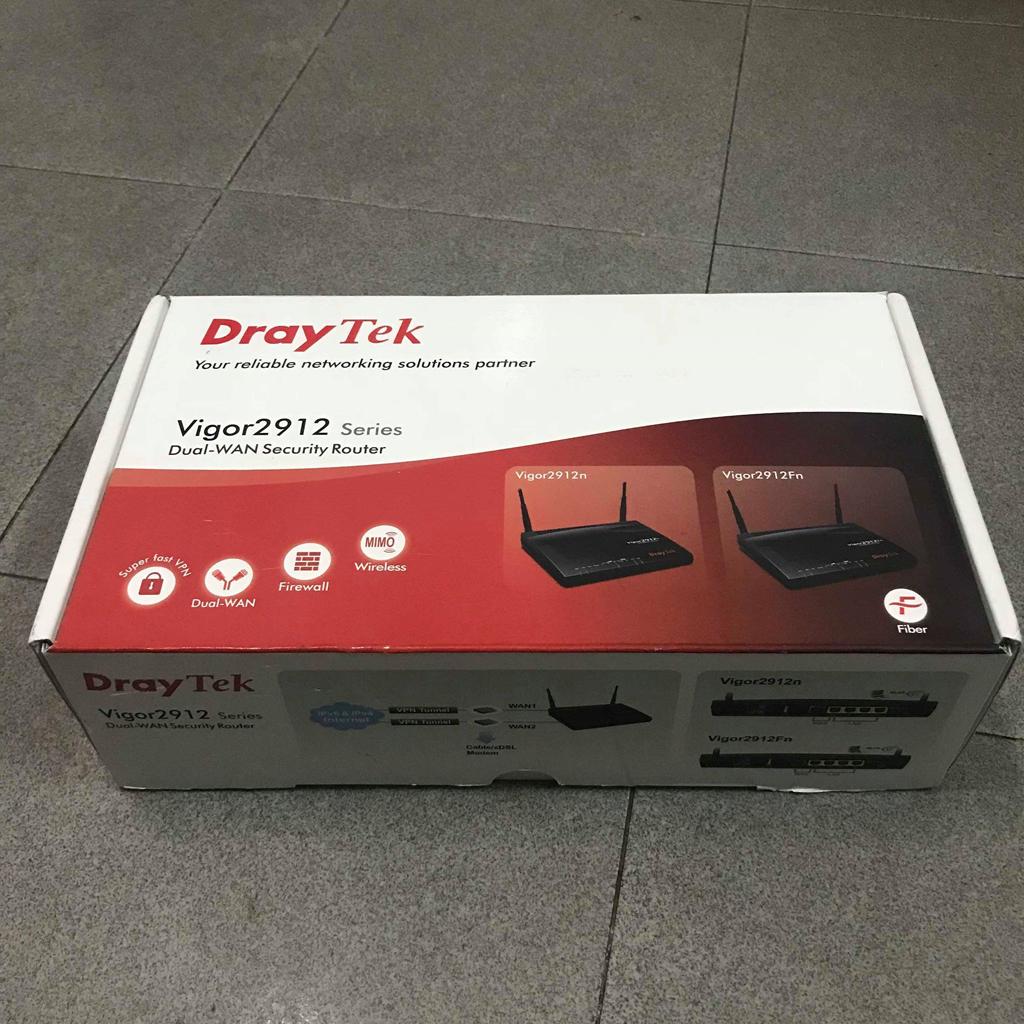 Router cân bằng tải Draytek Vigor 2912Fn