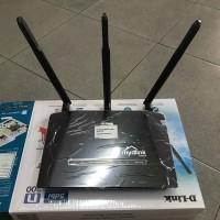 Router D'link DIR-619L Công Suất Cao - Chiến Binh Xuyên Tường 300Mbps